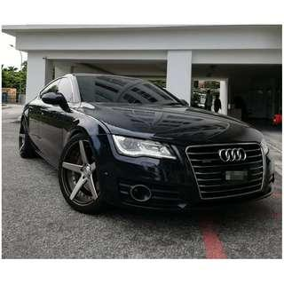 AUDI A7 3.0 QUATTRO SUPER CHARGE TURBO LOAN BALANCE 18MONTHS ONLY