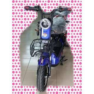 綠馳電動車E-Bike- AEV4 (藍)-電動自行車/電動輔助自行車/電動機車/電動車