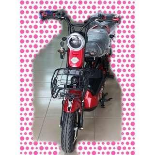綠馳電動車E-Bike- AEV5 (紅)-電動自行車/電動輔助自行車/電動機車/電動車