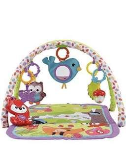 Brand New Fisher Price 3-in-1 Musical Activity Gym, Woodland