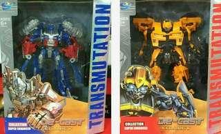🚚 變形金剛 變體機器人(2種款式)