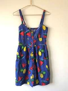 Dangerfield Fruit Print Dress