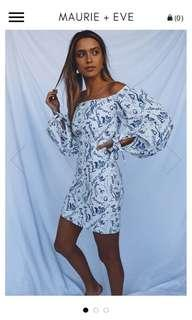 Maurie and Eve off the shoulder dress