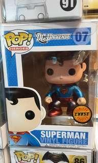 Funko pop chase superman