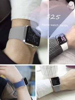 Apple watch bands 萍果 手錶帶 只有灰色