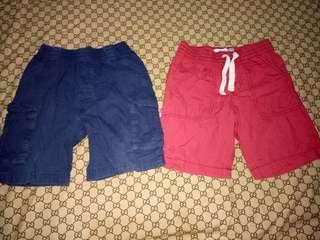 Bundle of Ild Navy & Garanimals Shorts(Size 4-5y/o)