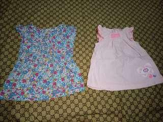 Bundle of Carter's Top for her(Size 0-9Months)