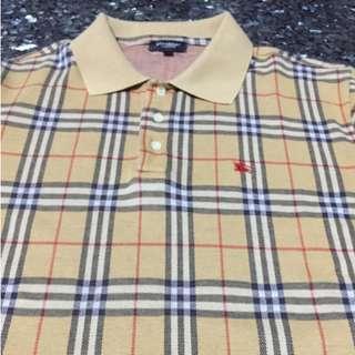 Burberry 經典格紋POLO衫