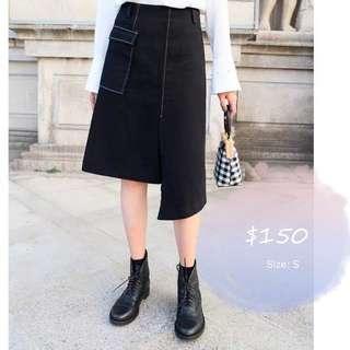 Denim skirt 牛仔 短裙