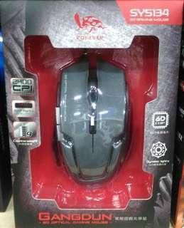 🚚 RONEVER 6D 電競遊戲光學滑鼠