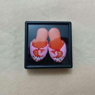 Peranakan Beaded Mini Shoes