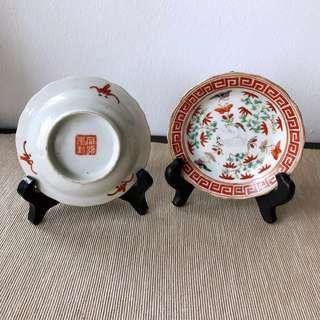 Authentic Antique Peranakan porcelain
