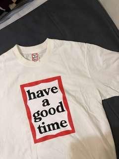 🚚 正品潮T have a good time