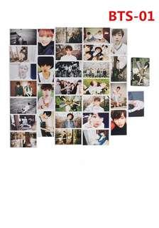 BTS photocard love yourself