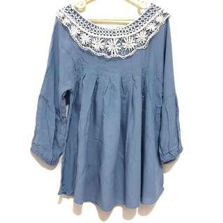 Blouse in Blue