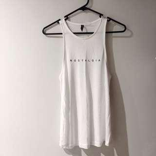 Sleeveless 'Nostalgia' top