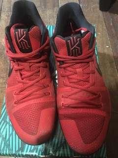 Kyrie 3 University Red Black Original