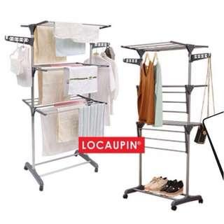 FREE POST 📦 Locaupin 3 Tier Foldable Drying Rack Clothes
