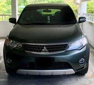 Mitsubishi outlander 2.4A 2009