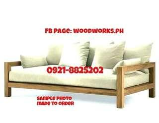 Wooden Daybed 30x75