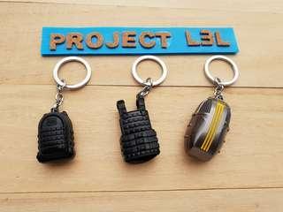 🚚 (in stock) PUBG Fortnite Keychain Bags Level 3