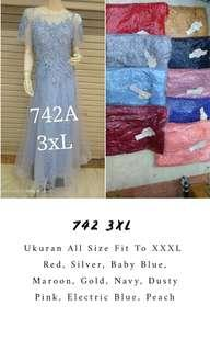 Dress Pesta Big Size/ Evening Gown Big Size