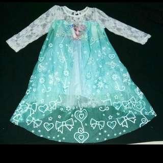 elsa costume/gown
