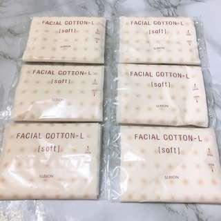 6x Albion 高級棉柔化妝棉 Facial Cotton