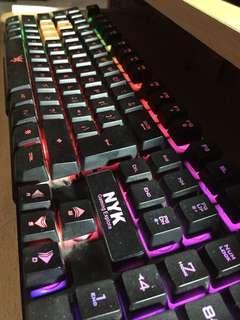 Keyboard Gaming NYK K-02 Backlight