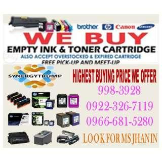 Expired Unused Buyer of Empty Ink Cartridges and Toner
