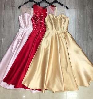 Dress Pesta / evening gown/ gaun pesta /Mini Dress