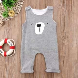 🚚 Instock - bear jumpsuit, baby infant toddler girl boy