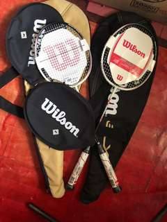 Wilson Badminton Racket 00da6ea76de9f