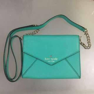 🚚 Kate Spade Crossbody Ceder Street Monday Authentic Green Bag