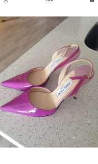 Jimmy Choo 淺紫色高貴高跟鞋
