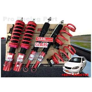 GAB Adjustable High Low +  BodyShift Vios 05+