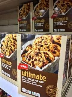 Coles Ultimate 40% Chocolate Chip Cookies 400 g