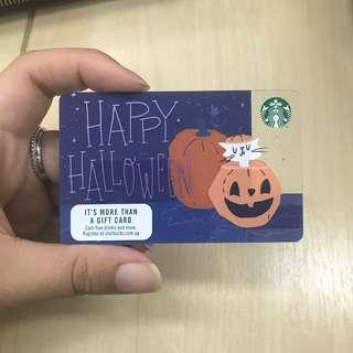 Starbucks Card Halloween