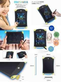 8.5寸彩色🌈LCD 液晶電子彩色手寫塗鴉板