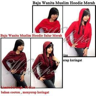 Pakaian Muslim Hoodie