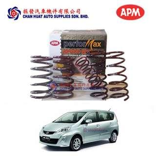 Perodua Alza APM Performax Sport Coil Springs (Set of 4) Lower Suspension