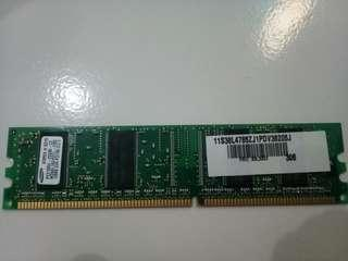 Memory Laptop Samsung RAM 128MB DDR PC2100 CL2