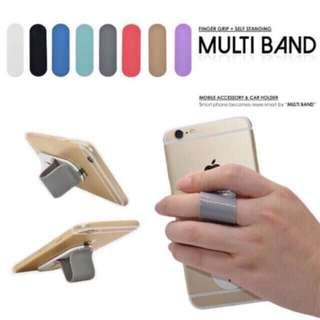Phone Multiband (finger grip + phone stand)