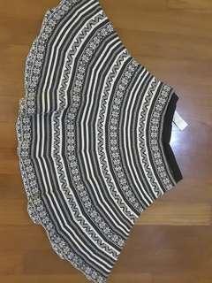 Cotton On Tribal Skater Skirt