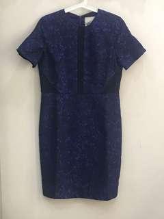 NEW Milly of New York brocade dress