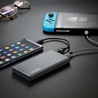 【龐大電池🔋/外型輕巧】Verbatim新款勁快充電池🔋10000mAh PD+QC3.0😱
