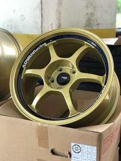 "17"" Advan RG New Wheel"