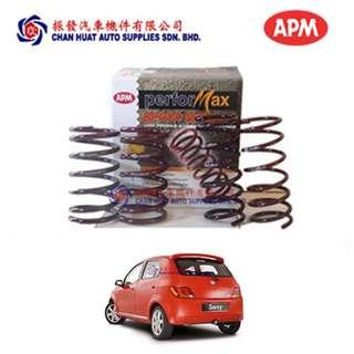 Proton Savvy APM Performax Sport Coil Springs (Set of 4)