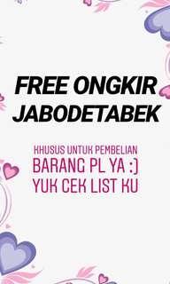FREE ONGKIR 😍