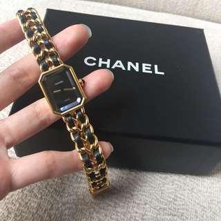AUTHENTIC CHANEL Premiere Watch -size M (fits 15-17 cm wrist)